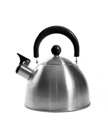 Bouilloire sifflant tous feux - Inox - 1,5L - Noir